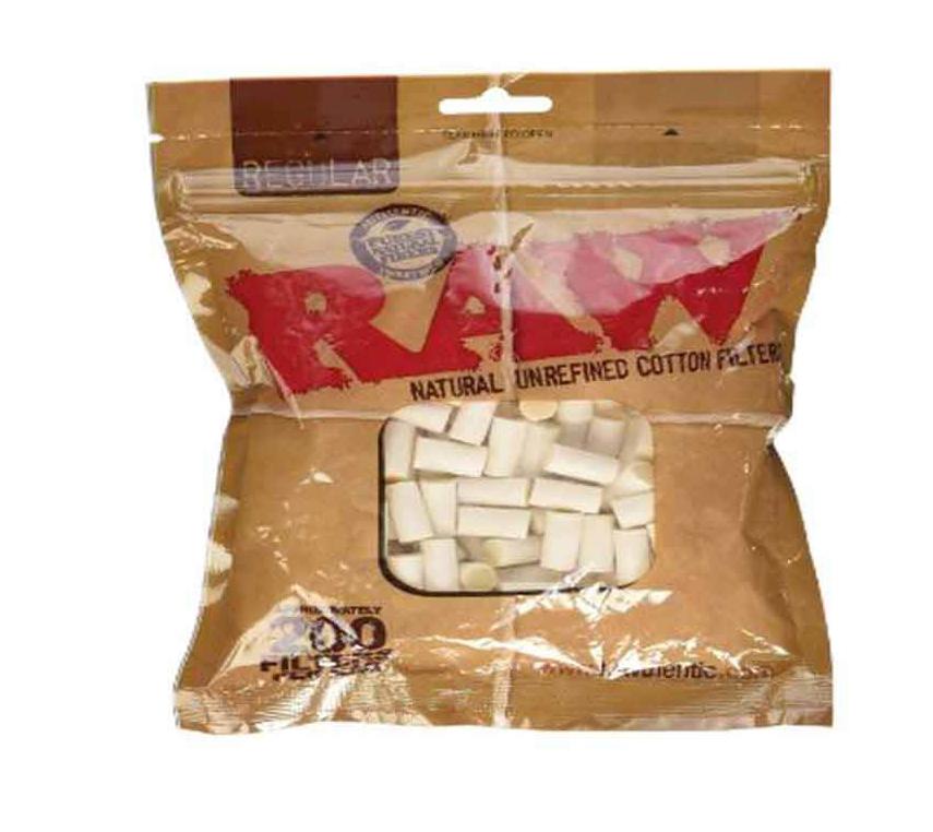 Cigarettfilter Raw Regular 8 mm 200 st