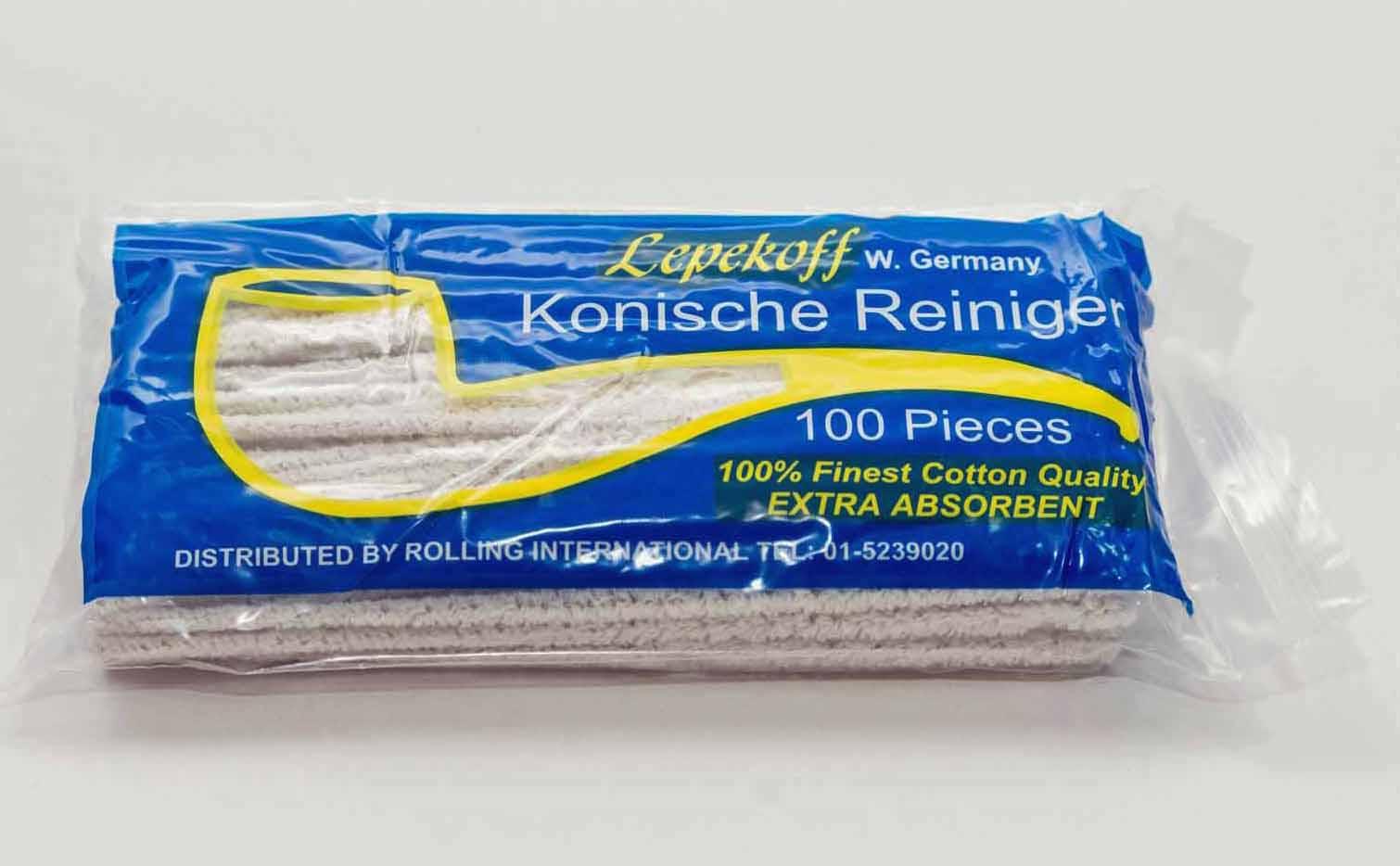 Piprensare  Lepekoff Koniska Soft 100 st