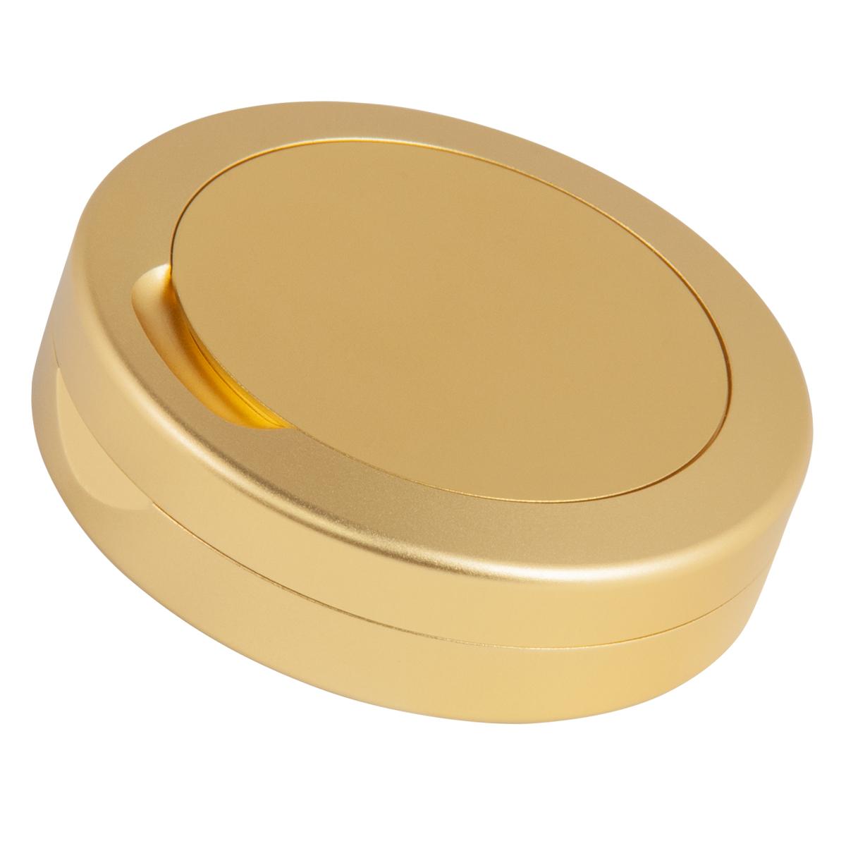 Snusdosa DUS med askkopp Guld