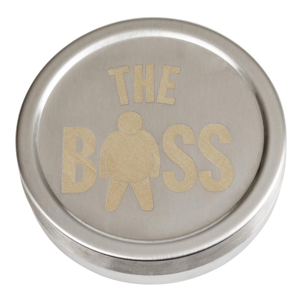 Snusdosa rostfri (The Boss)