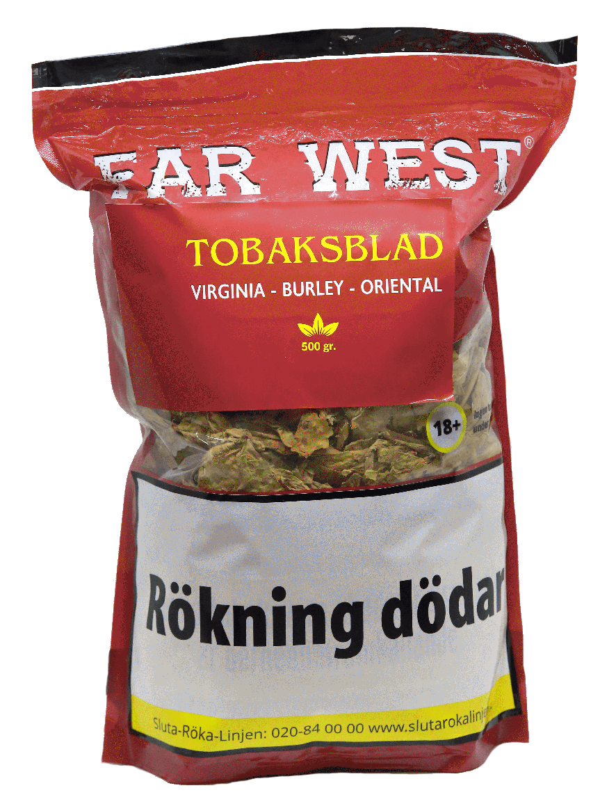 Tobaksblad Far West Virginia-Burley-Oriental 500g