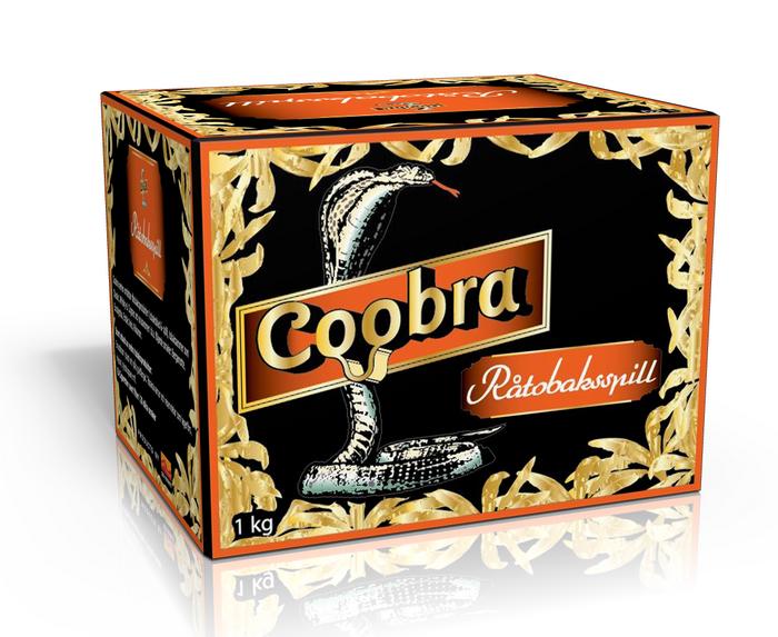Råtobaksspill Coobra Orange Grov 1 Kg