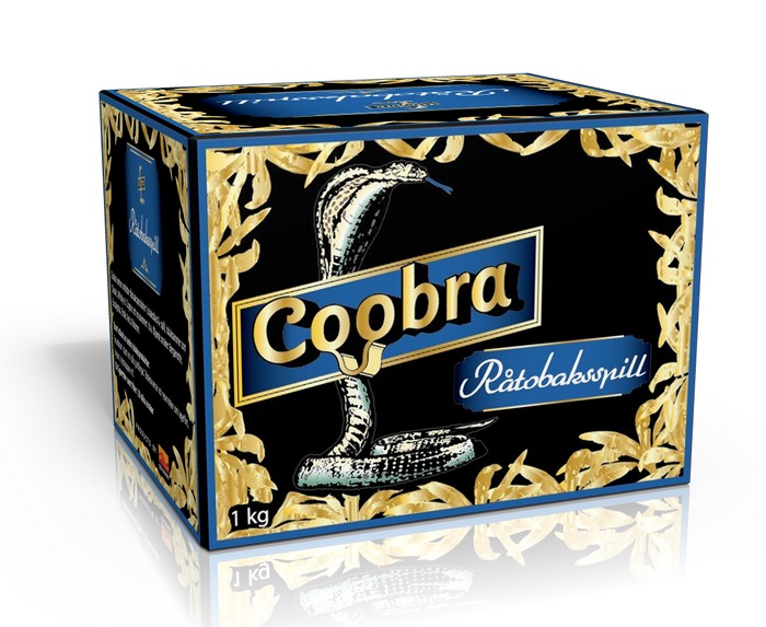 Råtobaksspill Coobra Blå Finmald 1 Kg