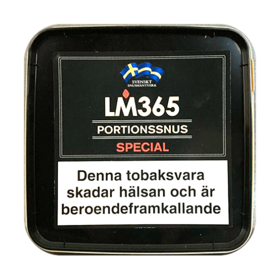 Portionssnus Special 240 g ca 400 prillor