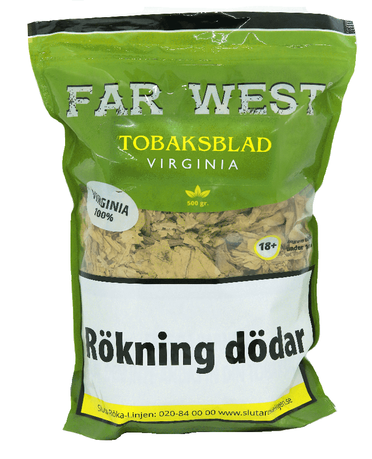 Tobaksblad Far West Virginia 500g