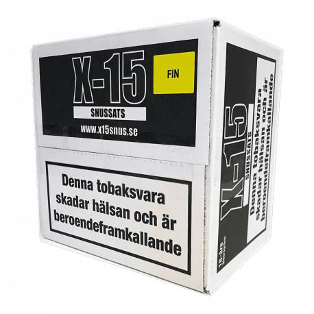 Snussats X15 Fin 1 Kg