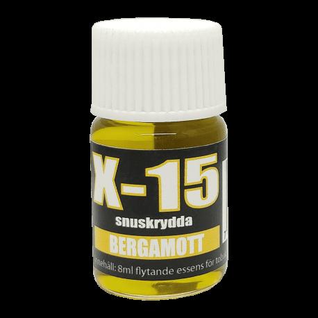 Snusarom X-15 Bergamott 8 ml