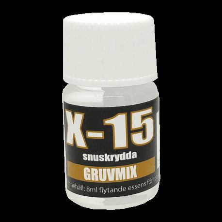 Snusarom X-15 Gruvmix 8 ml