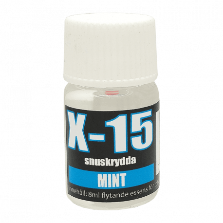 Snusarom X-15 Mint 8 ml