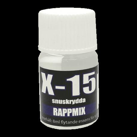 Snusarom X-15 Rappmix 8 ml