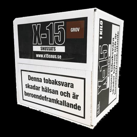 Snussats X-15 Grov 1 Kg
