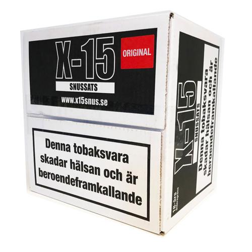 Råtobaksspill X-15 Original 1 Kg